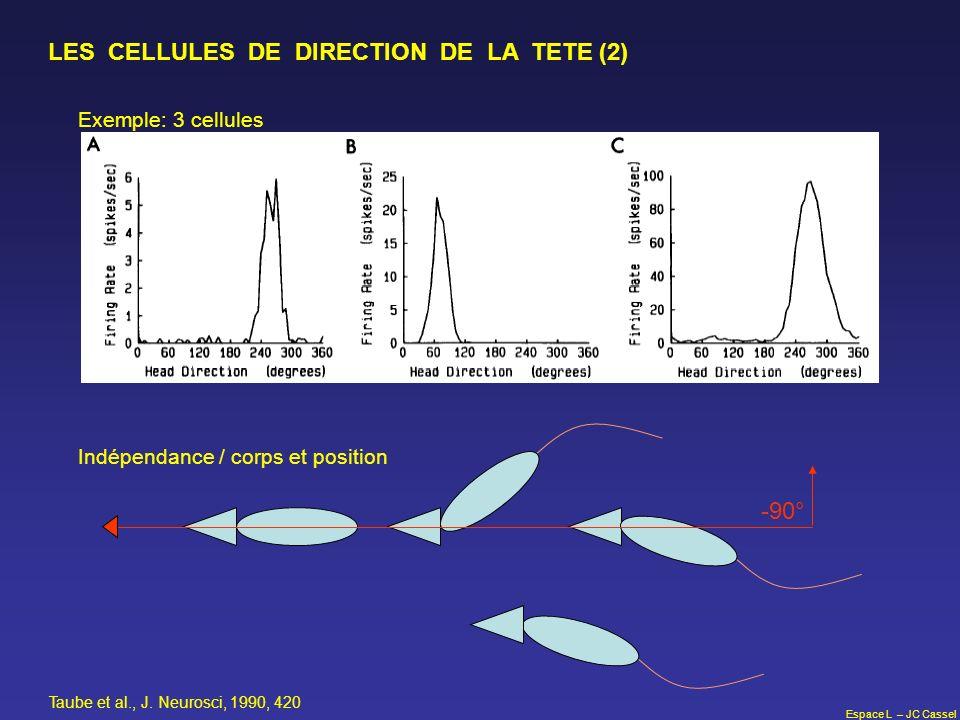 LES CELLULES DE DIRECTION DE LA TETE (2)
