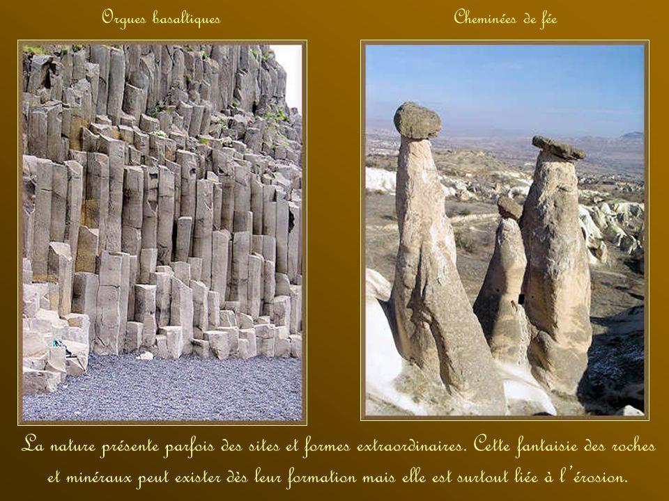 Orgues basaltiques Cheminées de fée.