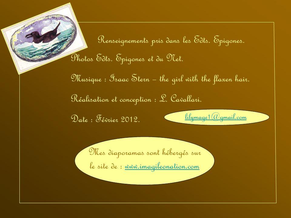 Mes diaporamas sont hébergés sur le site de : www.imagileonation.com