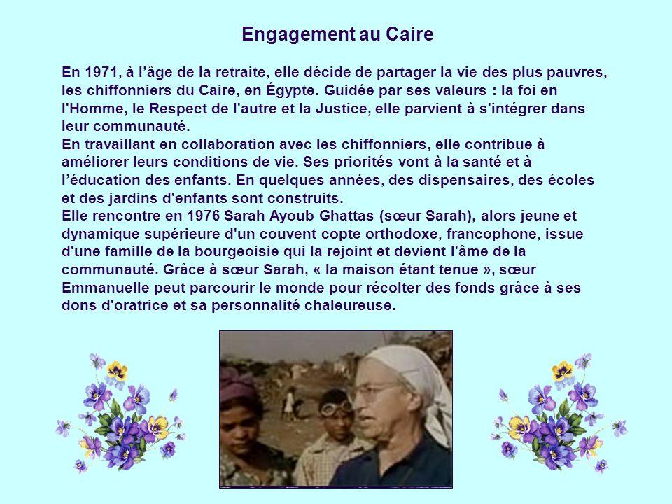 Engagement au Caire