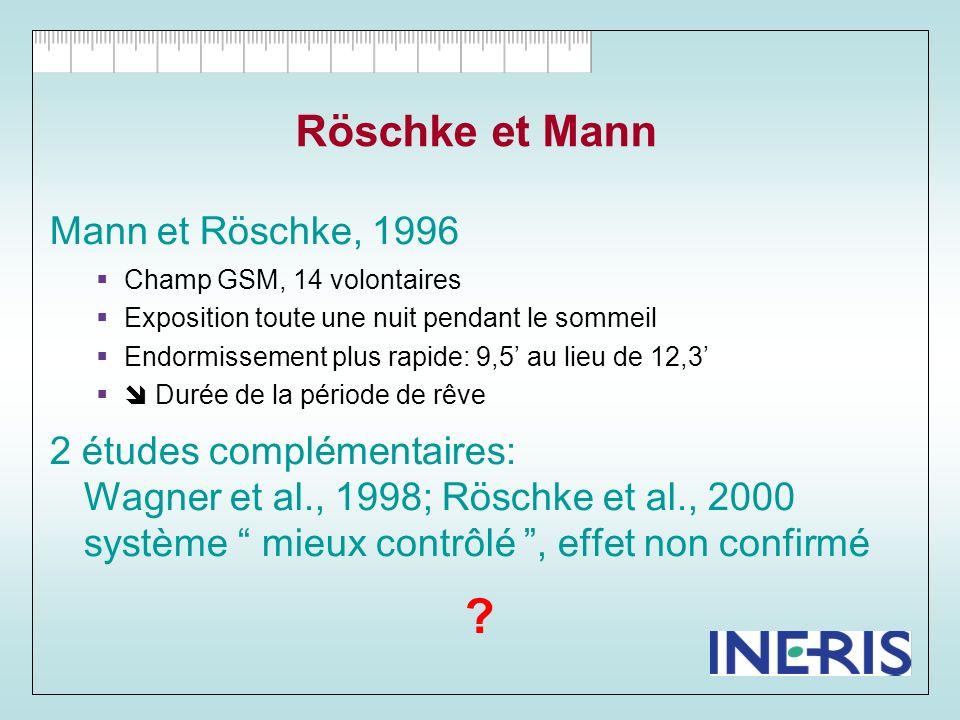 Röschke et Mann Mann et Röschke, 1996