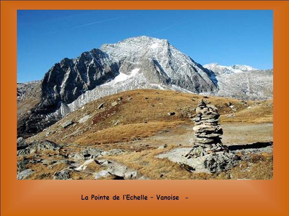La Pointe de l'Echelle – Vanoise -
