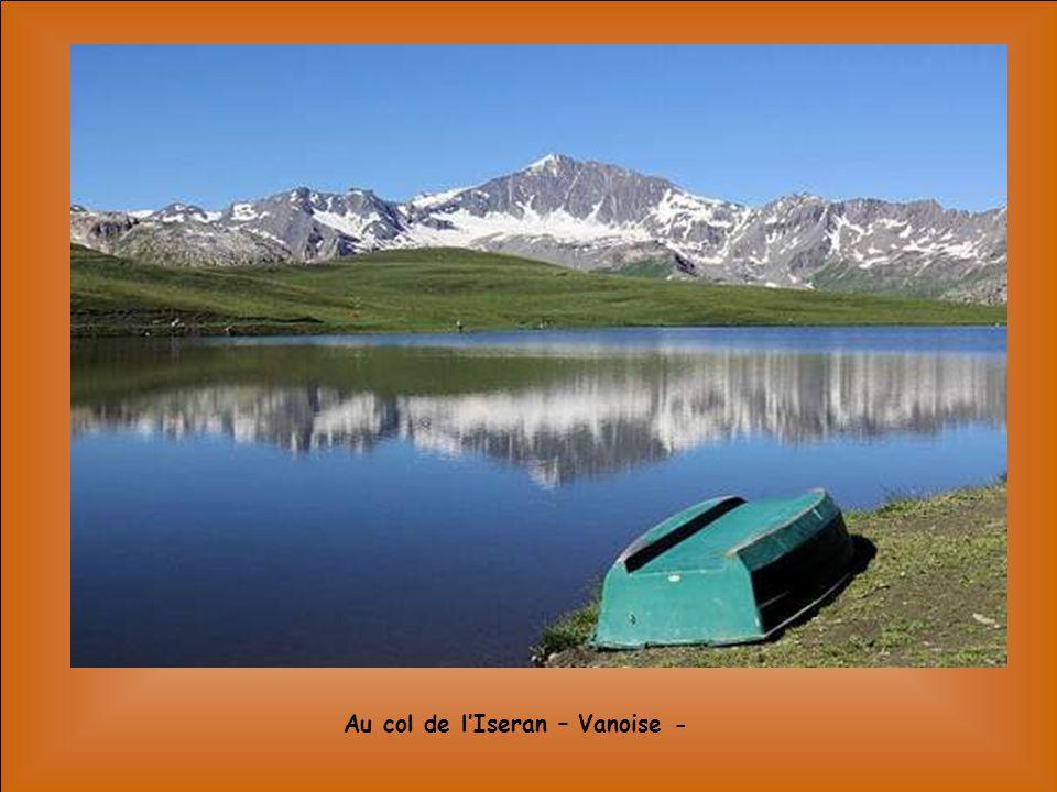 Au col de l'Iseran – Vanoise -