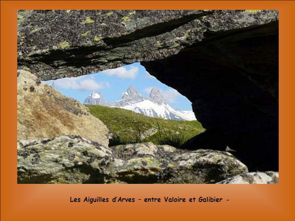 Les Aiguilles d'Arves – entre Valoire et Galibier -