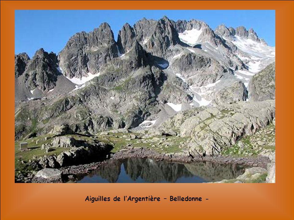 Aiguilles de l'Argentière – Belledonne -