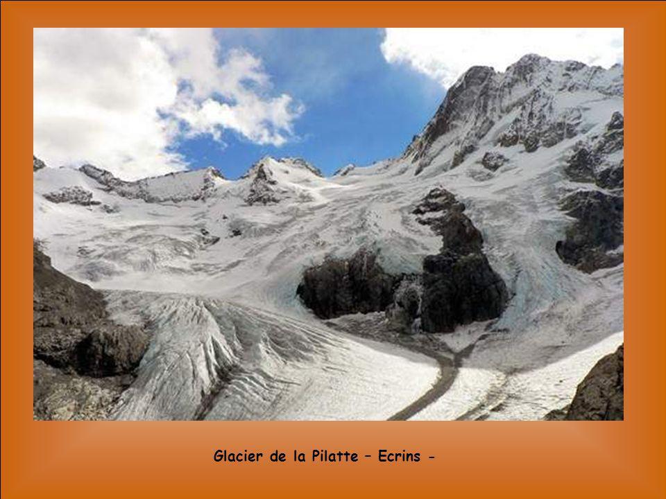 Glacier de la Pilatte – Ecrins -
