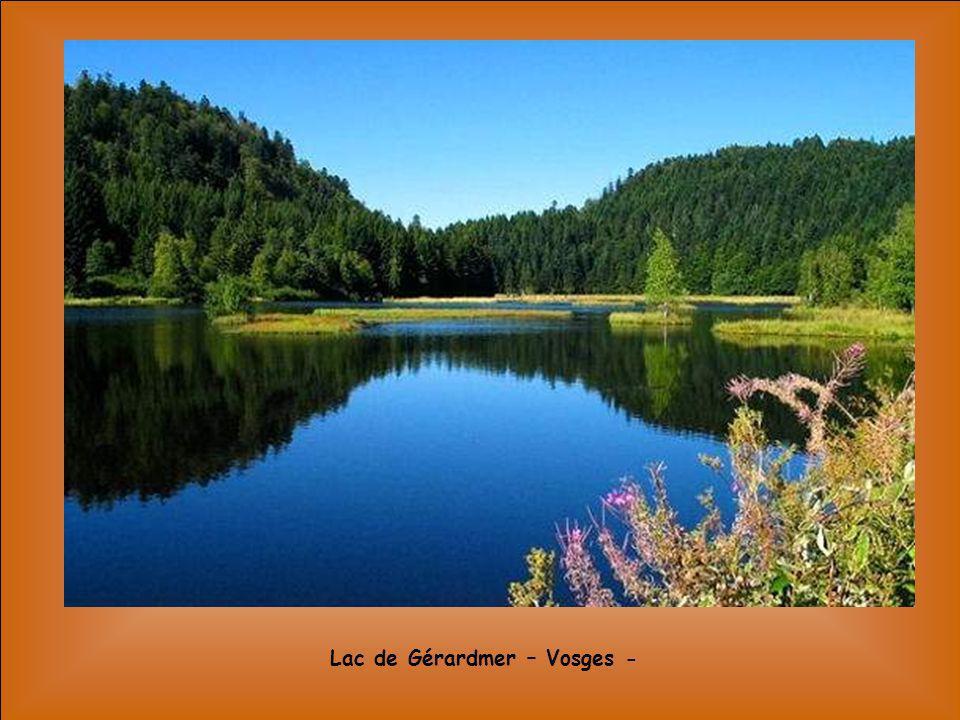 Lac de Gérardmer – Vosges -