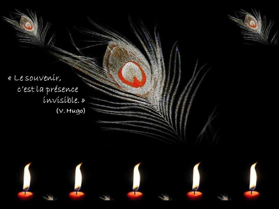 « Le souvenir, c'est la présence invisible. » (V. Hugo)