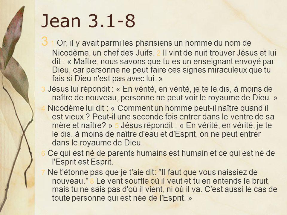 Jean 3.1-8