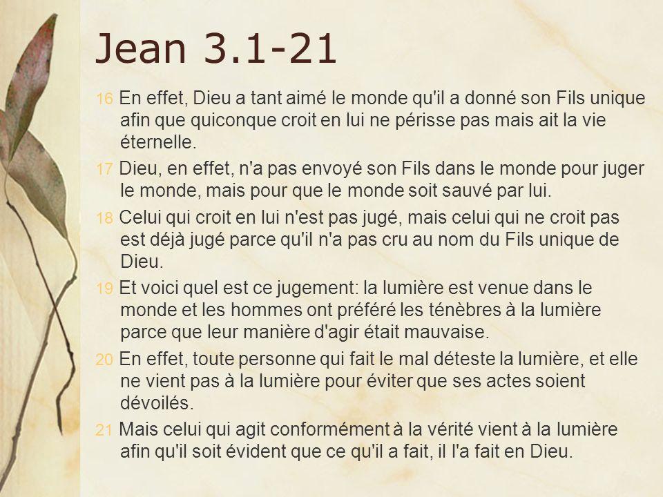 Jean 3.1-21