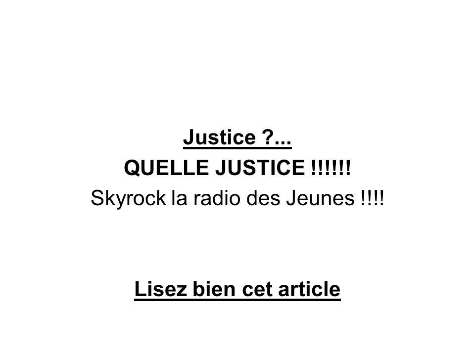 Skyrock la radio des Jeunes !!!!