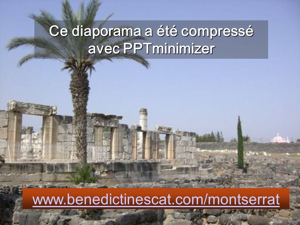 Ce diaporama a été compressé avec PPTminimizer
