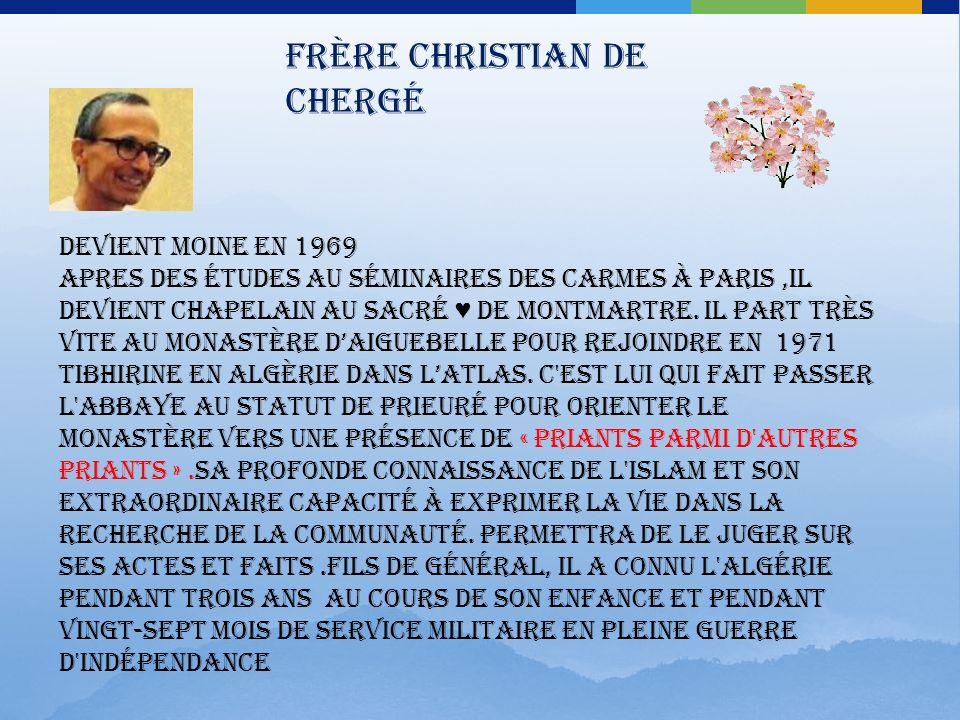 Frère Christian de Chergé