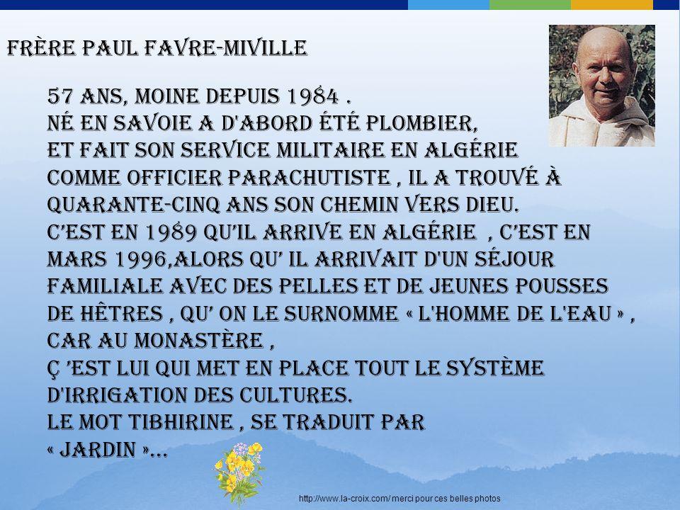 Frère Paul Favre-Miville