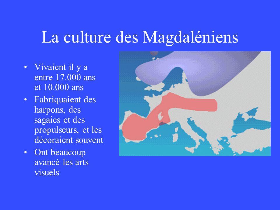 La culture des Magdaléniens