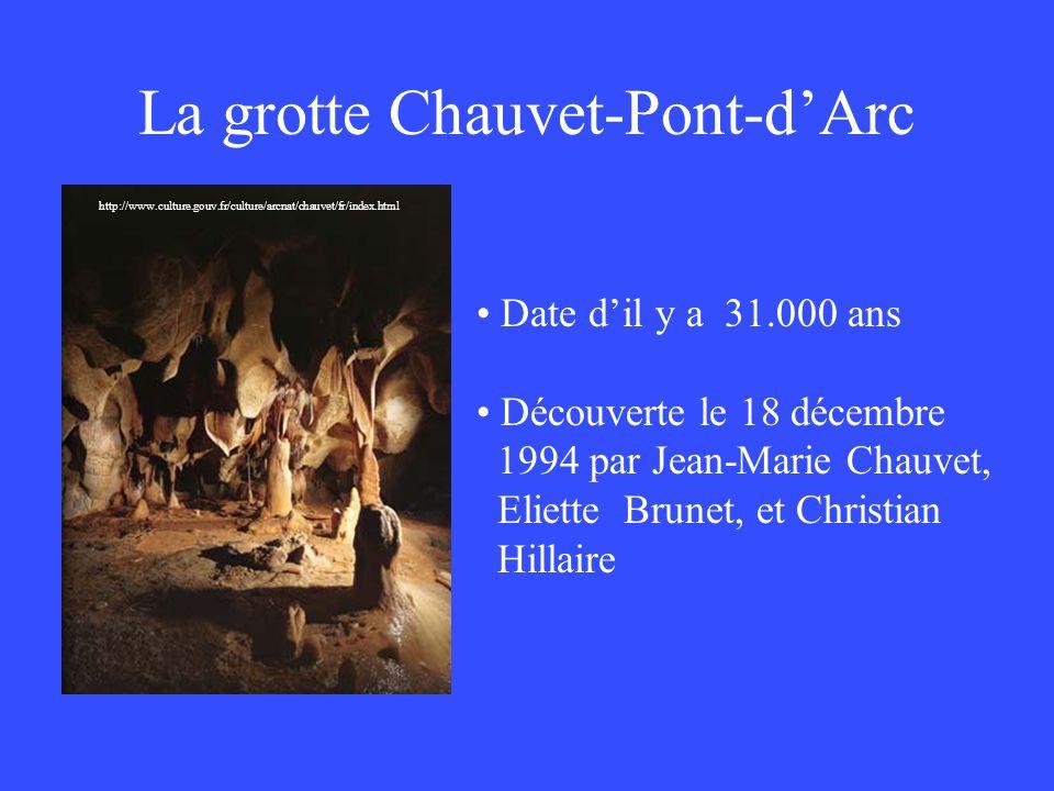 La grotte Chauvet-Pont-d'Arc