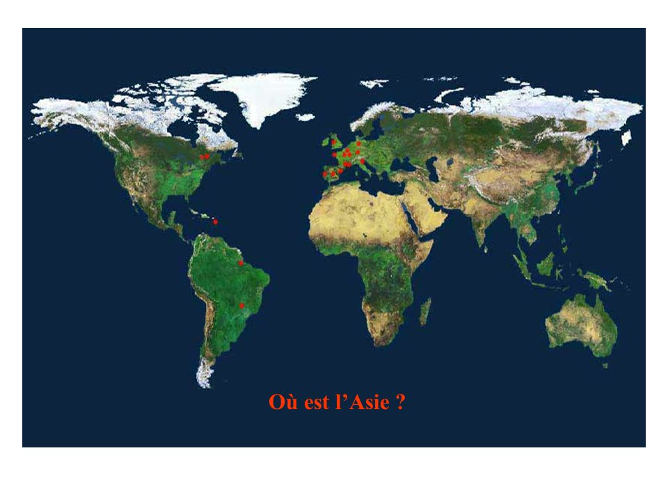 Où est l'Asie