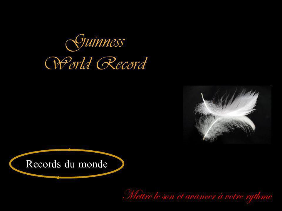 Guinness World Record Mettre le son et avancer à votre rythme