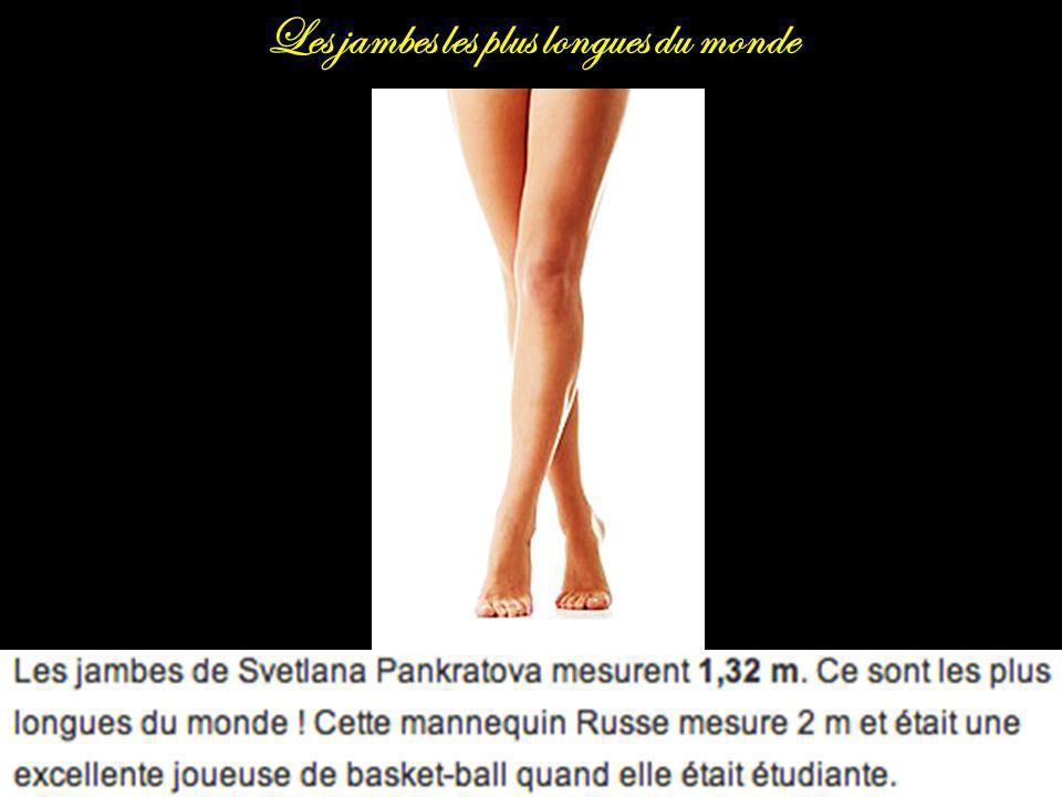 Les jambes les plus longues du monde