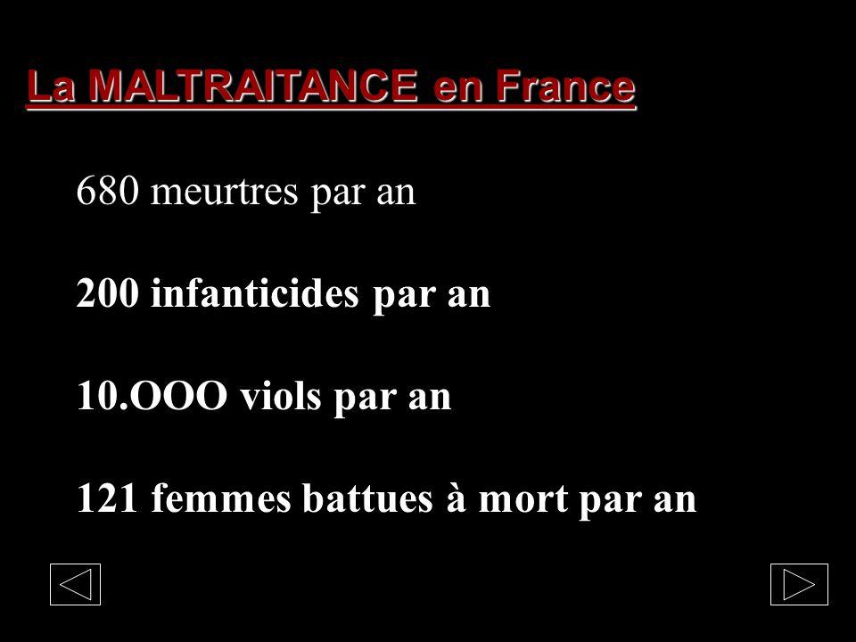 La MALTRAITANCE en France