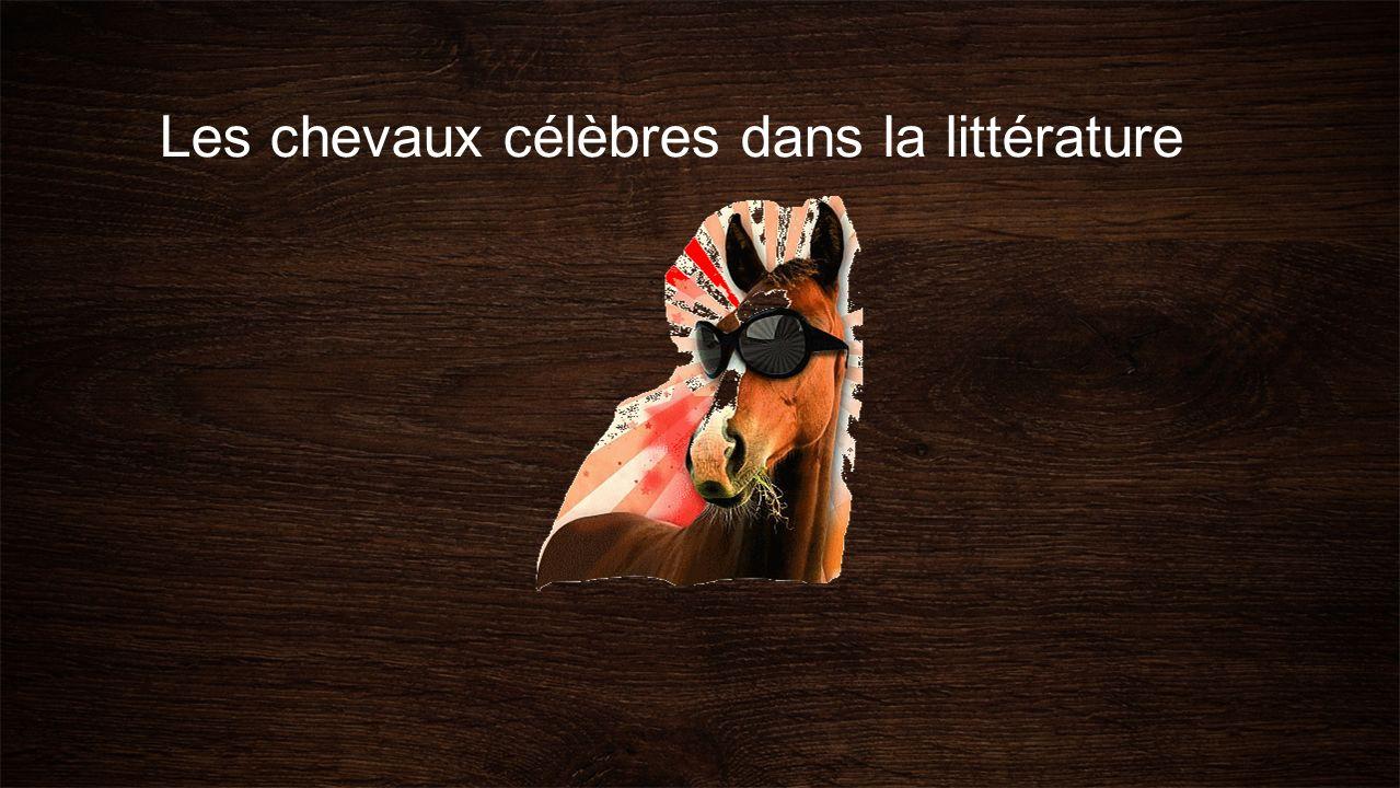 Les chevaux célèbres dans la littérature