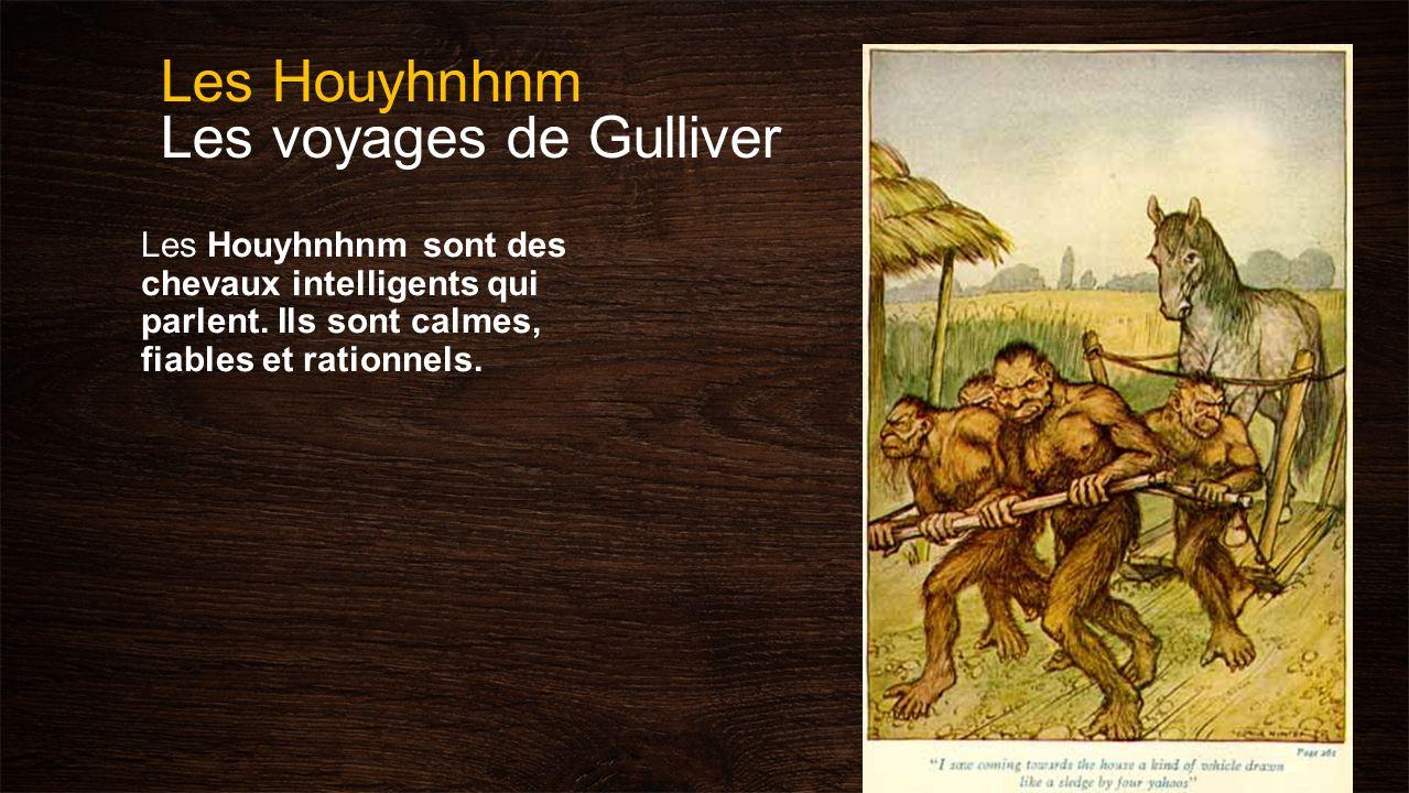 Les Houyhnhnm Les voyages de Gulliver