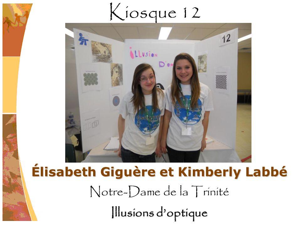 Élisabeth Giguère et Kimberly Labbé
