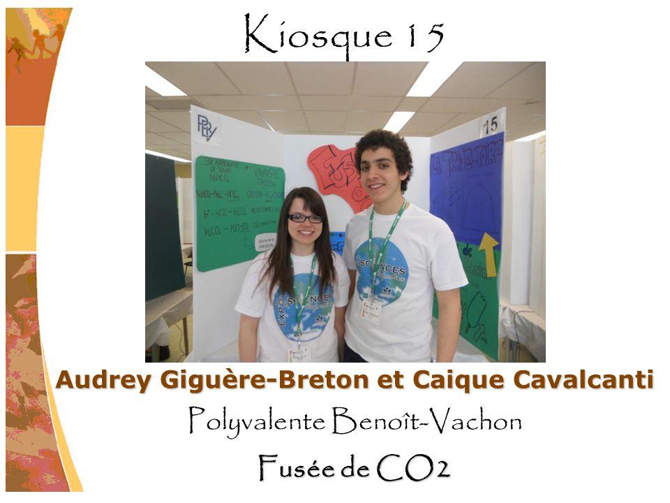 Audrey Giguère-Breton et Caique Cavalcanti