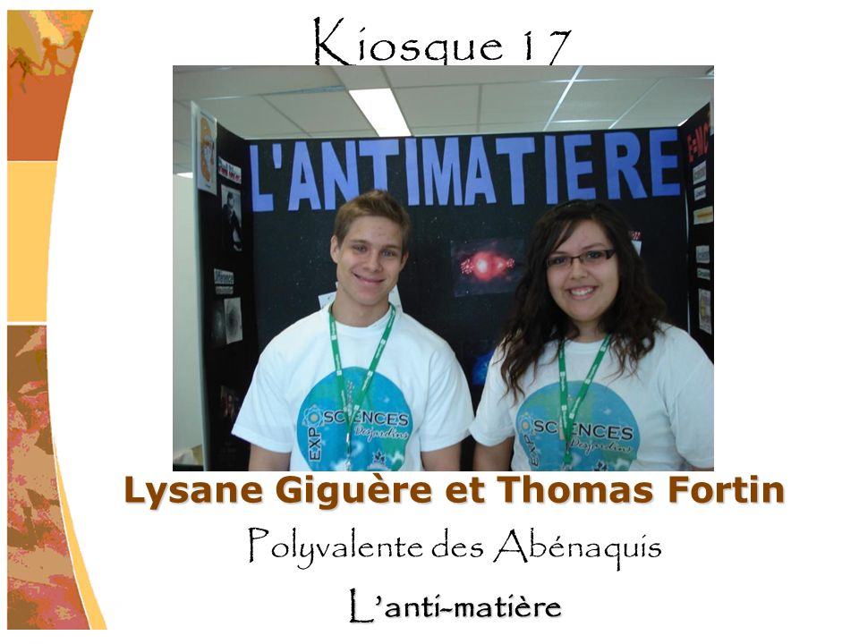Lysane Giguère et Thomas Fortin