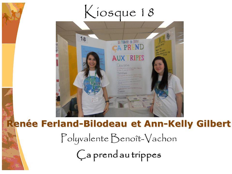 Renée Ferland-Bilodeau et Ann-Kelly Gilbert
