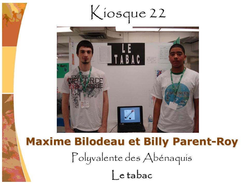 Maxime Bilodeau et Billy Parent-Roy