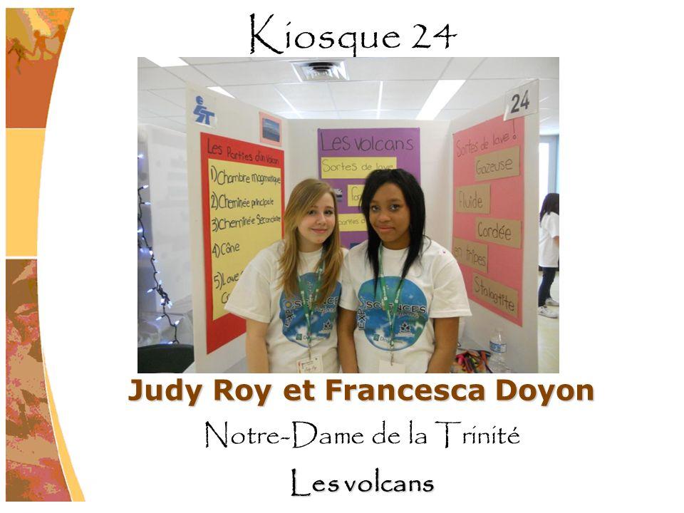 Judy Roy et Francesca Doyon