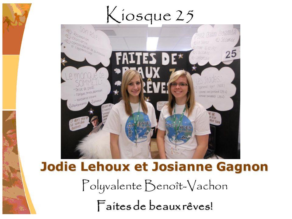 Jodie Lehoux et Josianne Gagnon