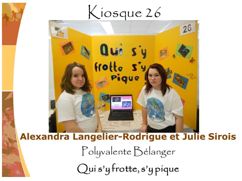 Alexandra Langelier-Rodrigue et Julie Sirois Qui s'y frotte, s'y pique