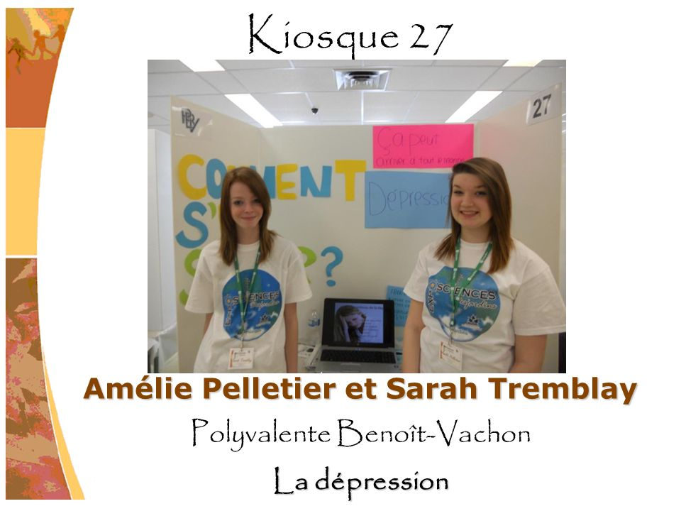 Amélie Pelletier et Sarah Tremblay