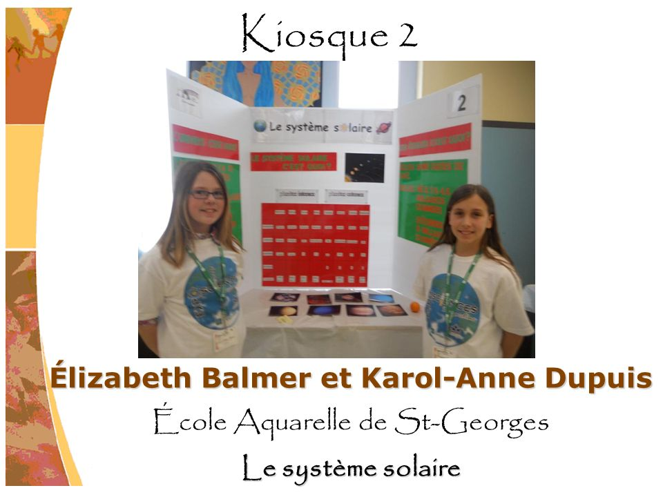 Élizabeth Balmer et Karol-Anne Dupuis