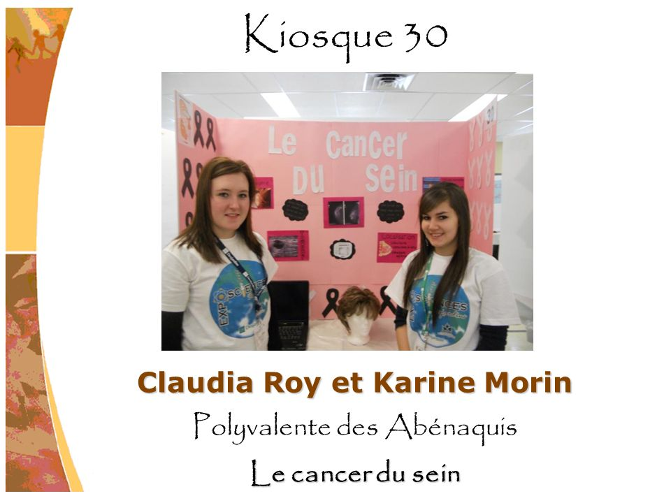 Claudia Roy et Karine Morin