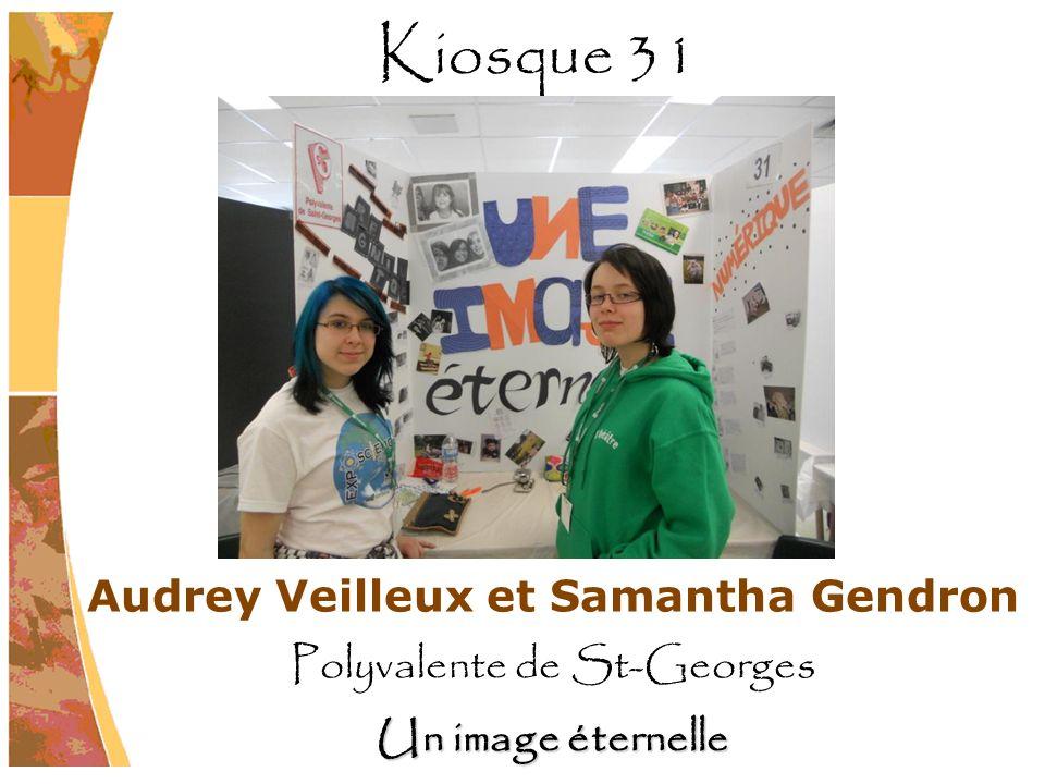 Audrey Veilleux et Samantha Gendron