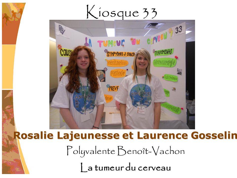 Rosalie Lajeunesse et Laurence Gosselin