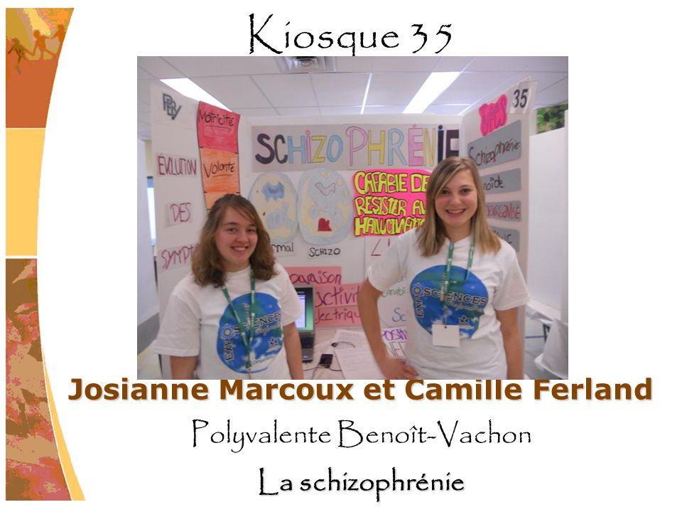 Josianne Marcoux et Camille Ferland