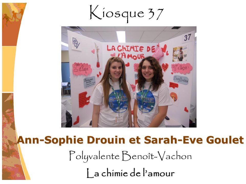Ann-Sophie Drouin et Sarah-Eve Goulet
