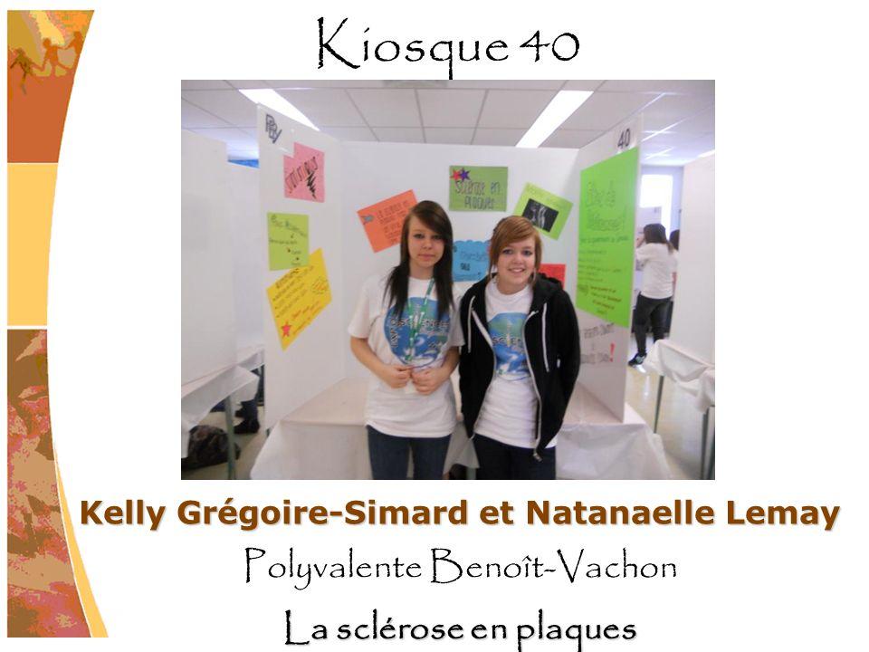 Kelly Grégoire-Simard et Natanaelle Lemay