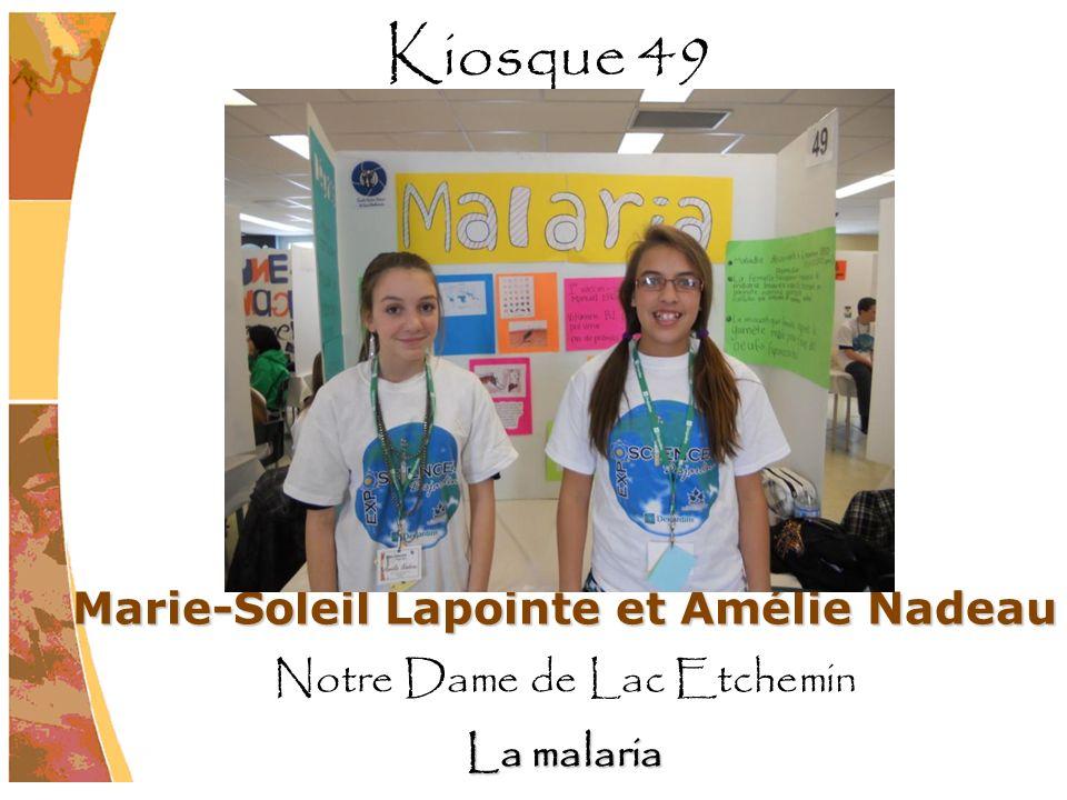 Marie-Soleil Lapointe et Amélie Nadeau