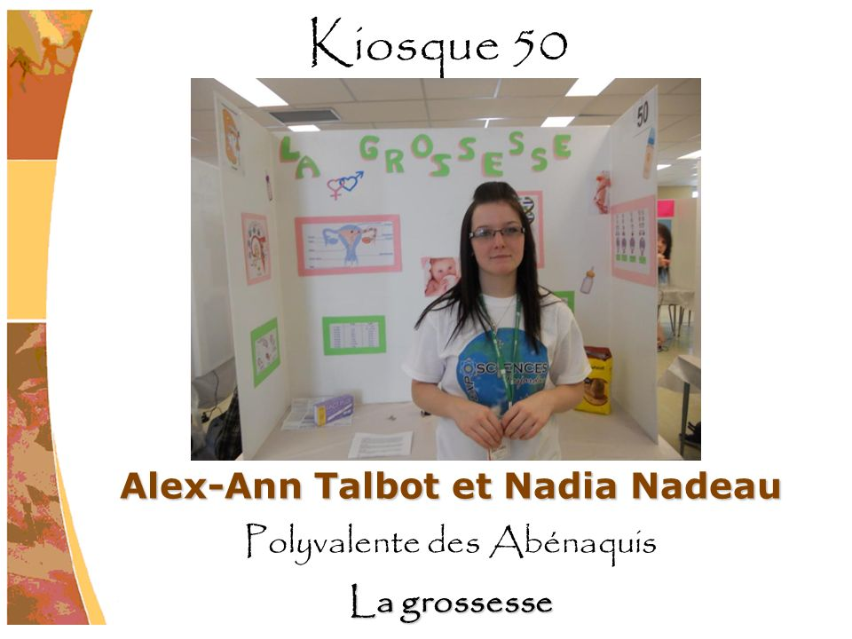 Alex-Ann Talbot et Nadia Nadeau