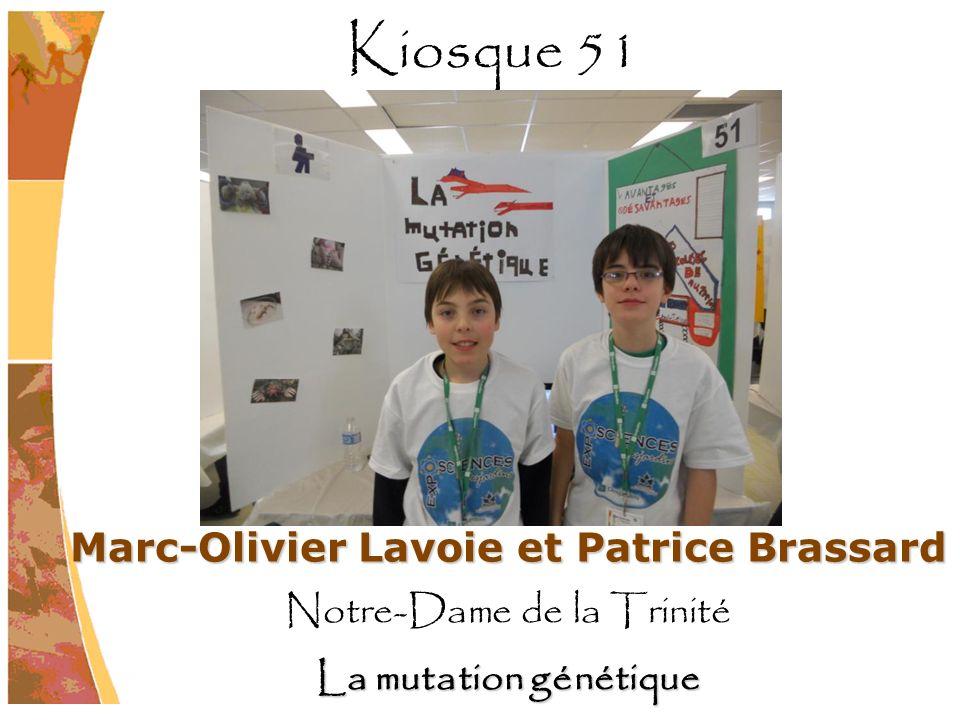 Marc-Olivier Lavoie et Patrice Brassard