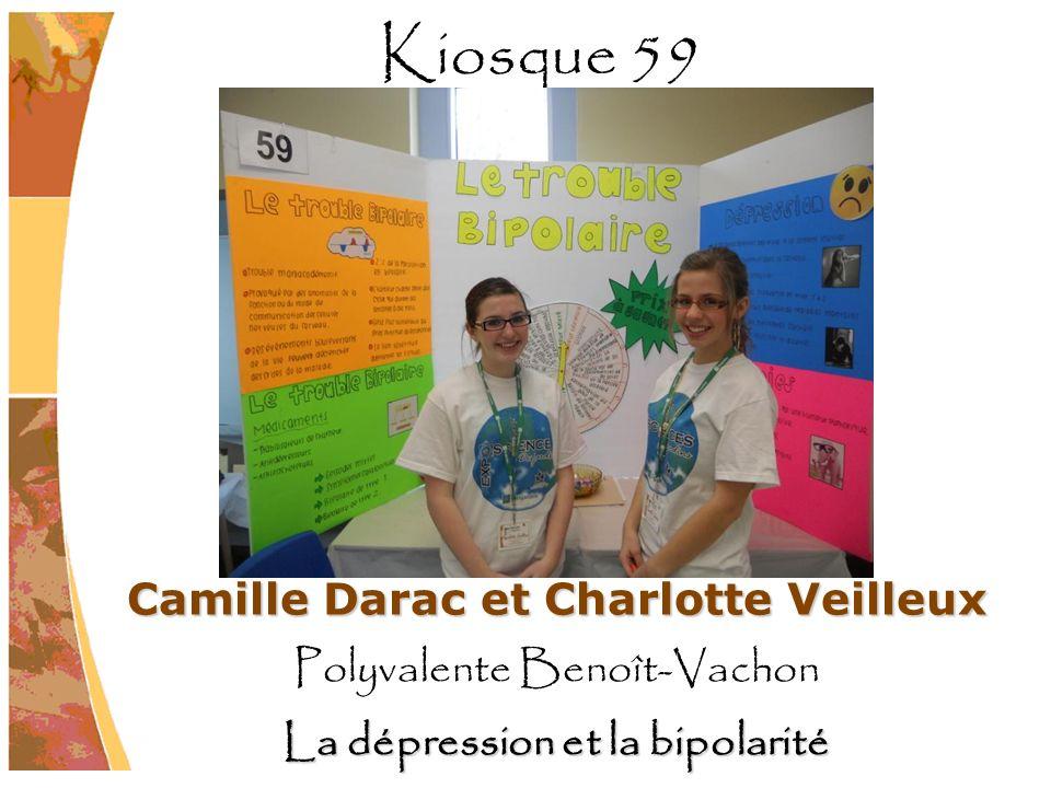 Camille Darac et Charlotte Veilleux La dépression et la bipolarité