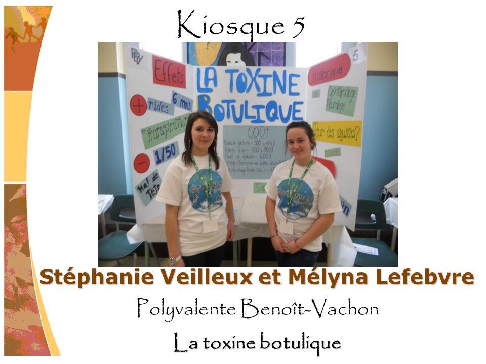 Stéphanie Veilleux et Mélyna Lefebvre