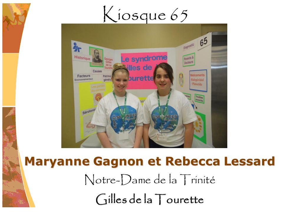 Maryanne Gagnon et Rebecca Lessard