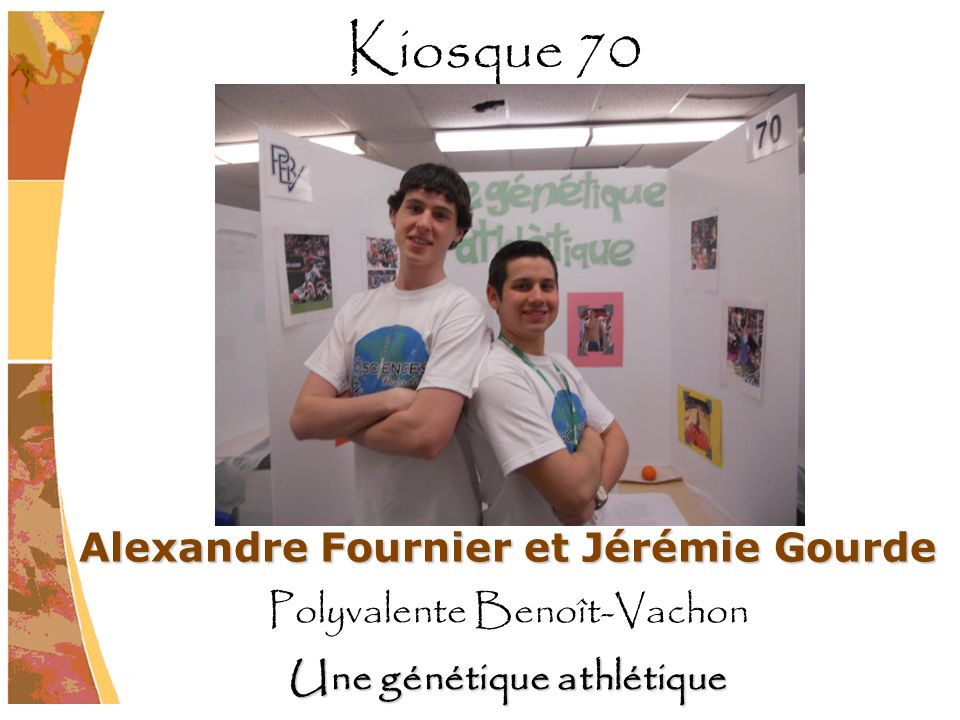 Alexandre Fournier et Jérémie Gourde Une génétique athlétique