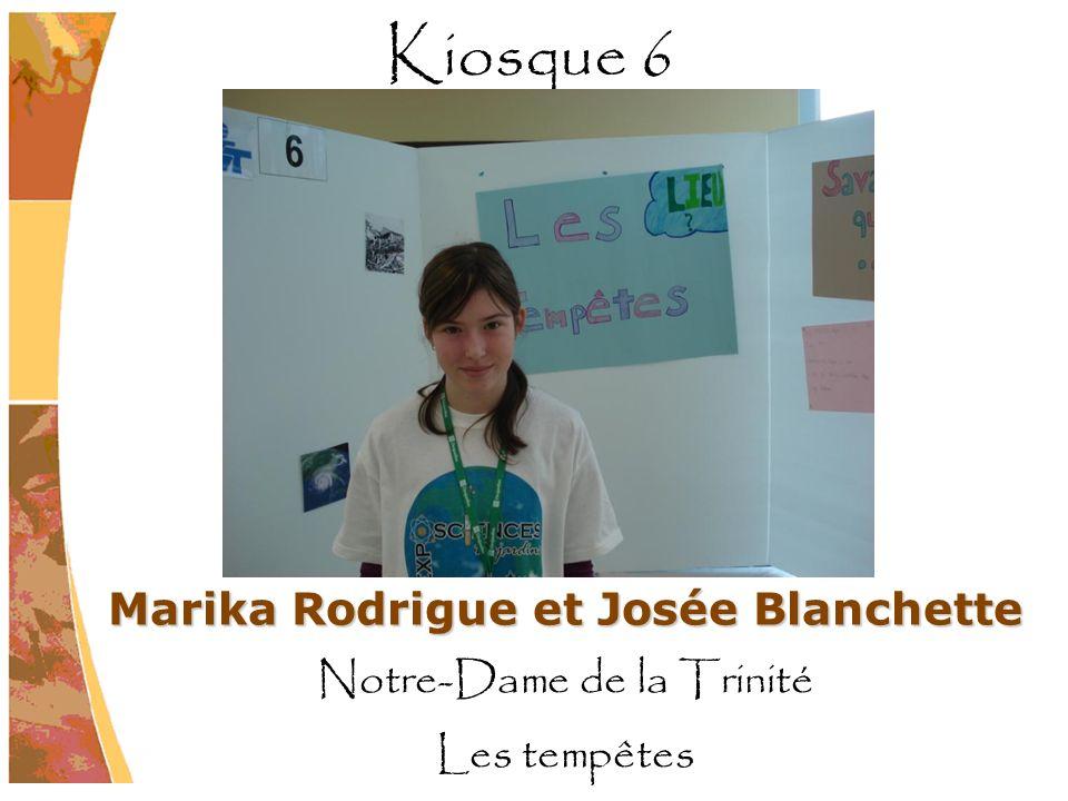 Marika Rodrigue et Josée Blanchette